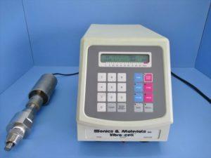 中古品/Sonics & Materials /超音波ホモジナイザー/VCX600