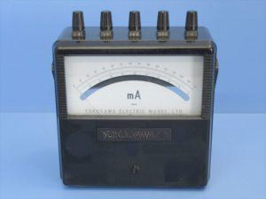 中古品/横河電機/ポータブル測定器 直流電流計 (DC mA) TYPE 2011 CLASS 0.5 ⑤