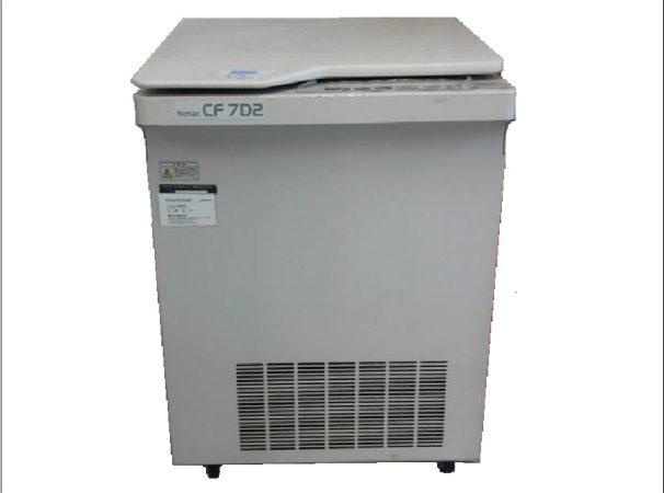 中古品/日立工機/小型冷却遠心分離機/CF7D2
