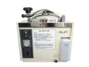 中古品/アルプ株式会社(ALP)/高圧蒸気滅菌器(オートクレーブ)/KTS-2322