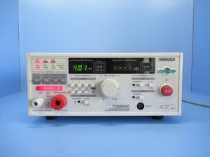 中古品/耐電圧・絶縁抵抗試験器/TOS8830