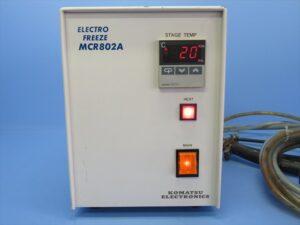 中古品/電子冷却式ミクロトーム用凍結装置/MC-802A