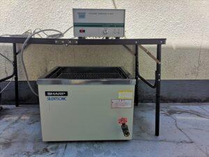 中古品/セパレート型超音波洗浄装置/UT-604F・UC-602B